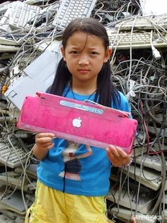 Greenpeace December 2011 Photo of the Month - the reality of electronic waste