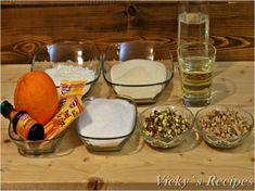 Prăjitură de post cu griș și arome orientale | Vicky's Recipes Oriental, Punch Bowls, Serving Bowls, Pudding, Tableware, Desserts, Recipes, Food, Bowls
