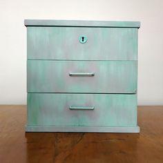 Retro upcycled dresser, TV stand, cabinet Dresser Tv, Filing Cabinet, Upcycle, Retro, Storage, Furniture, Home Decor, Homemade Home Decor, Binder