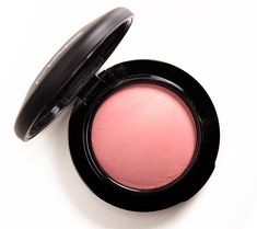 """MAC Dainty Mineralize Blush ($27.00 for 0.10 oz.) is described as a """"light yellow pink with gold pearl."""" It's a medium pink with warm undertones and a pearly sheen. Chanel Innocence (160) (P, $45.00) is more neutral, rosier. MAC Cheeky Bugger (LE, $21.00) is less shimmery. Urban Decay Streak Blush (P) is brighter, warmer, more …"""
