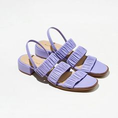 9 Stylish Ethical Sandals and Shoes for Summer - Terumah Ethical Shoes, Pink Mules, Barbie Shoes, French Brands, Significant Other, Leather Design, Summer Shoes, Pebbled Leather, Leather Sandals