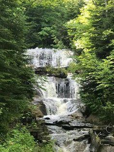 Sabel Falls, along Pictured Rocks drive, Hwy. 58