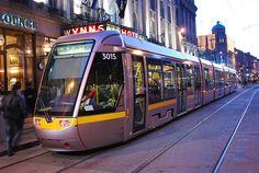 Light Rail Tram System, Dublin Ireland