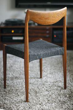 Rastad og Relling Bambi stoler 1959   FINN.no Wishbone Chair, Bambi, Scandinavian Design, Teak, Dining Chairs, Mid Century, Retro, Interior, Furniture