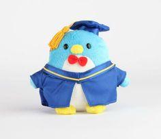 """Tuxedosam 5"""" Mascot Plush: Graduation 2014"""