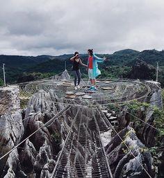 Masungi Georeserve, Rizal, Philippines  https://www.facebook.com/thisisinsider/videos/1568182286822497/?pnref=story