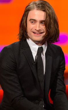 Daniel Radcliffe's hair extensions for upcoming Frankenstein film