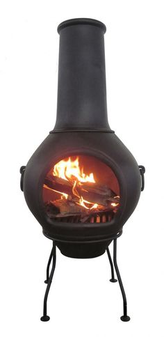 This chimenea is made from thick, solid cast iron and is ideal for families and…