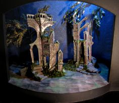 "Conceptual Scenic Design for""A Midsummer Night's Dream"" by Andrea Burdzy, via Behance"