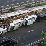 Yahoo $1.6 Million in Luxury Cars Wrecked in China A car crash can be an expensive thing, an inconvenient thing and even a deadly thing. Thankfully, the wreck shown here from WreckedExotics.com was only two of those. In this case no one was seriously hurt, but when a truck carrying eleven luxury cars turned over after running into the back of a… BoldrideTransportationLuxury vehicle