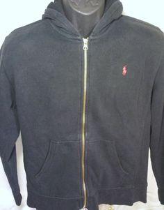Ralph Lauren Polo Youth Size Large 14/16 Black Jacket Red Pony #RalphLauren #BasicJacket #Everyday