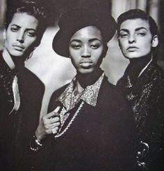 1991 Vogue Paris. Peter Lindbergh