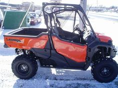 New 2016 Honda Pioneer 1000 EPS ATVs For Sale in Indiana. 2016 Honda Pioneer 1000 EPS, 2016 Honda® Pioneer® 1000 EPS Not Just Bigger: Better. The outdoors is meant to be explored. The highest hills, the deepest canyons, and the farthest reaches of the forests all lie in wait. And now, we bring you an entirely new vehicle that can get you there. The all-new Pioneer® 1000 is the world s preeminent side-by-side, both in the Honda® lineup, and the industry. Built around a class-leading 999cc…