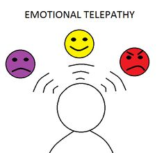 Emotional telepathy is when you send telepathic messages that correspond with your emotions. #emotionaltelepathy