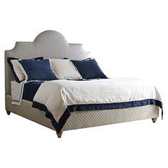 Stanley Furniture Coastal Living Retreat Breach Inlet Bed, King, Heron Grey Honeycomb Finish