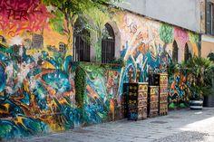 Graffiti on Via Santa croce