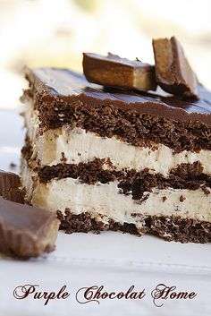 Peanut Butter Chocolate Eclair Cake. Sounds so good I might have to make this tonight