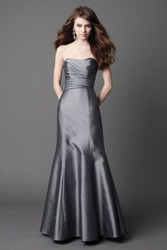 42 Glamorous sleeveless trumpet / mermaid bridesmaid dress