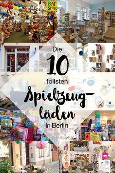 Der Countdown läuft. Noch etwas mehr als 1 Monat, dann ist Weihnachten. Wer von euch am liebsten offline shoppt, hat in Berlin die Qual der Wahl. Wir haben unsere liebsten 10 Spielzeugläden ausgewählt: