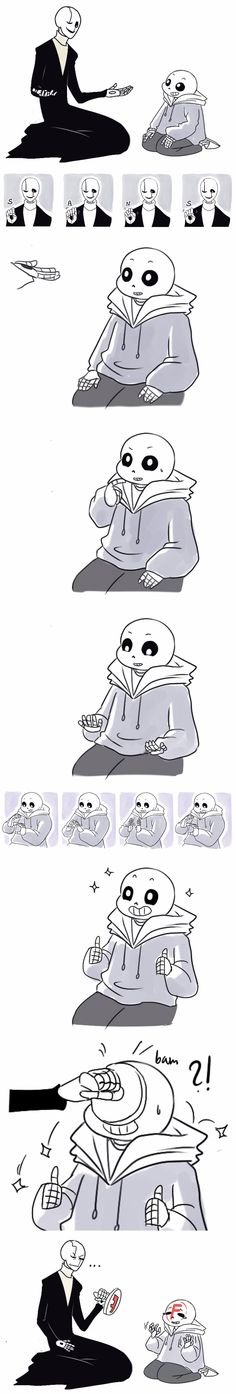 Gaster and Sans #comic