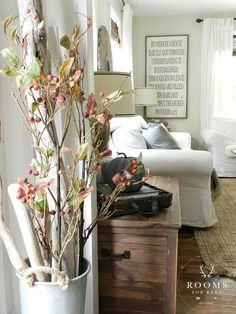 Fall Into Home Tour - Rooms For Rent blog