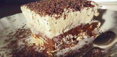 Τούρτα Μπισκότο Summer Desserts, Tiramisu, French Toast, Deserts, Food And Drink, Sweets, Candy, Cookies, Breakfast