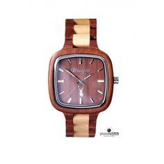 """""""Inspiration"""" Pioniermodell für """"Ihn"""" - Ahorn- & Sandelholz - Holzuhr - watches Watches, Wood Watch, Accessories, Inspiration, Design, Wrist Watches, Biblical Inspiration, Wristwatches, Tag Watches"""