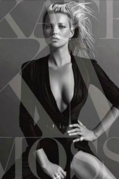 Kate Moss shot by Inez & Vinoodh 1 of 8 Covers for Kate The Kate Moss Book <3 I ordered her book can't wait 2 get it
