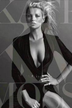 Kate Moss shot by Inez & Vinoodh