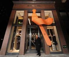 Hermes storefront...