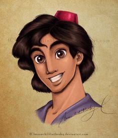Aladdin+Portrait+Color+by+moonchildinthesky.deviantart.com+on+@deviantART
