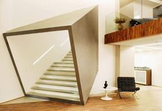 Box and stairs