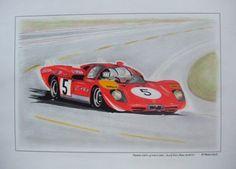 Ferrari 512S  Jacky Ickx / Peter Schetty  24 Heures du Mans 1970