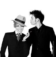 Billie and David