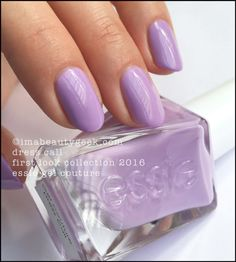 Essie Dress Call. Essie Gel Couture 2016 - all the swatches 'n stuff at imabeautygeek.com
