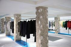 tokujin yoshioka designs issey miyake flagship store in london | designboom