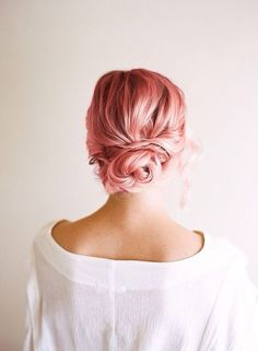 pink hair || via Tumblr