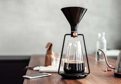 GINA App-Enabled Smart Coffee Maker with Pour-Over, Immersion and Cold Drip