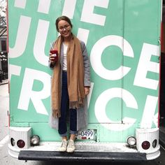 #JuiceLove goes out to @gabybayona from @truvellebridal and @laudaebride Not only does Gaby make some beautiful gowns she's also one of our favorite Gastown faces. Thanks for being part of our juice family Gaby!  by juicetruck
