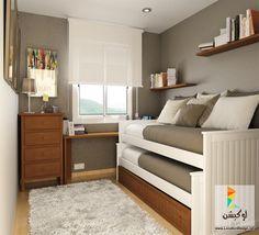 غرف اطفال مراهقين بتصميمات مودرن