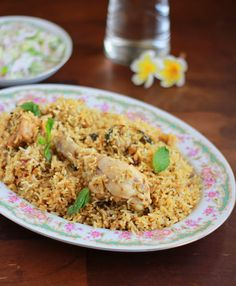Chicken Biriyani.