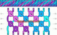 To Make Alphabet Friendship Bracelets Normal Friendship Bracelet Pattern - Normal Friendship Bracelet Pattern - String Bracelet Patterns, Embroidery Floss Bracelets, Thread Bracelets, Loom Bracelets, Macrame Bracelets, Macrame Jewelry, Ankle Bracelets, Friendship Bracelets With Names, Diamond Friendship Bracelet