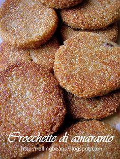 Crocchette di amaranto e funghi Mushrooms amaranth croquettes #ricette #amaranto #vegan ricette vegane vegan recipes