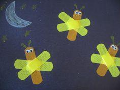 Lightening Bug craft idea
