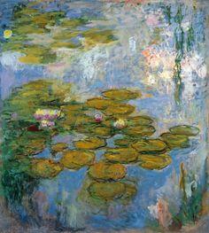 Claude Monet - Nymphéas, 1916-19.