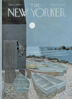 The New Yorker - Saturday, June 1, 1968 - Issue # 2259 - Vol. 44 - N° 15 - Cover by : Charles E. Martin