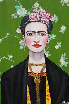 Frida Kahlo von Sebestulka auf Etsy