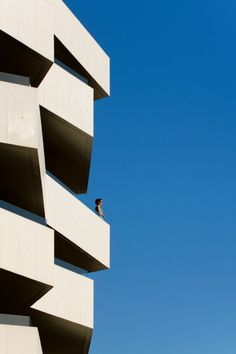 Architects: dEMM Arquitectura, Paulo Fernandes da Silva.  Location: Porto, Portugal.   Living Foz is composed by 40 apartments distributed over 7 floors.