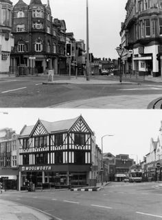 Woolworths and rumbelows, Wigan town centre