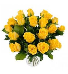 20 Yellow Roses Birthday Gift Delivery Send Gifts Happy Thank You